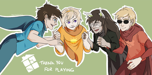 Thank You For Playing by prettyoddchild