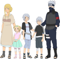 Hatake family by One-legged-zombie