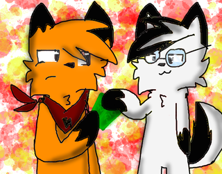 nerd battle by BannerKitty2036