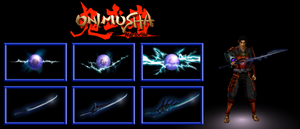 Onimusha Warlords - Weapons (Raizan / Shiden) by TeenTsuyoi