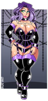 :Commission - Voluptuous Violet: by Lorddragonmaster