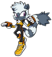 Tangle the Lemur - SA Style by Cylent-Nite