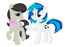 Vinyl and Octavia by kas92