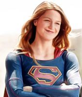 Supergirl Beautiful Smile by letydb