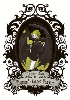 Loraine Reba The Thousand-Fanged Vampire by CottonValent