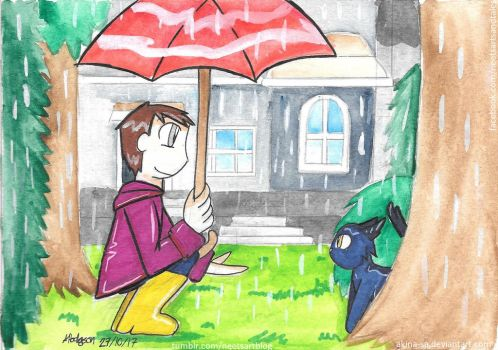 30. Under the Rain AKA Small Encounter by Akina-SA