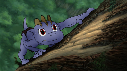 MACHOP AS YOUNG TARZAN: Learning to Survive by PoKeMoN-Traceur