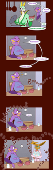 Pg 3 : Lil Spooks of Halloween by R-MK