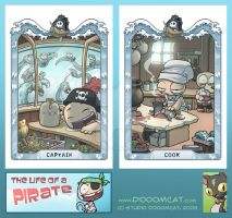 Pirate Post Cards by Sanaril