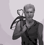 Daryl Dixon by 4theloveofdrawing