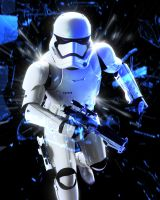 First Order Stormtrooper by LitgraphiX