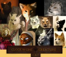 Clockwork Creatures cats by TenseiCat