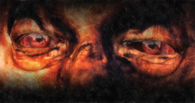 Eyes of the Dead Soul by BlackDragonGallery