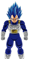 Vegeta Super Saiyajin Blue Full Power by arbiter720