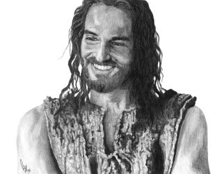 Jesus Smiling by rshaw7
