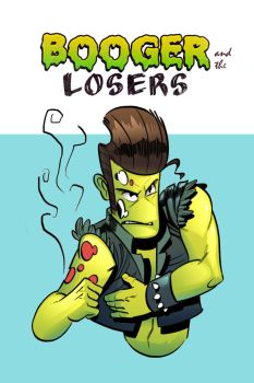 Booger and the Losers Mockup Cover by StickDinosaur