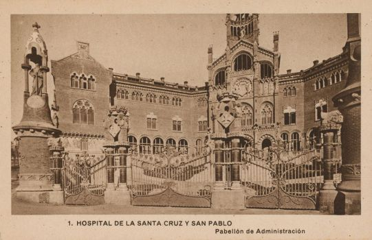 Vintage Europe - Holy Cross + St. Paul Hospital by Yesterdays-Paper