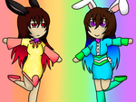 Easter Buns by forestchick501