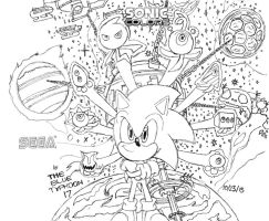 Sonic Colors Artwork by BlueTyphoon17