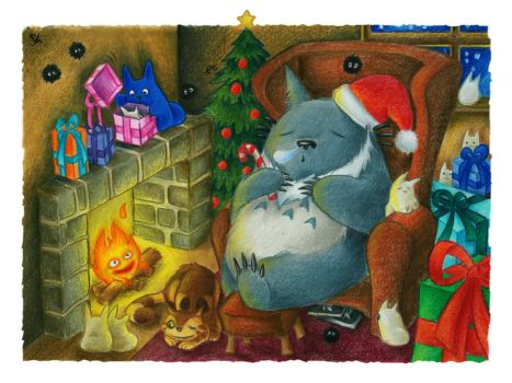 Homely Christmas by Merinid-DE