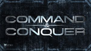 Command and Conquer - simple logo-wallpaper by Dexistor371