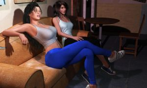 Hanging out after the gym by fightgirl2004