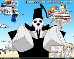 Actual Desktop Shinigami-Sama by Meta-link05