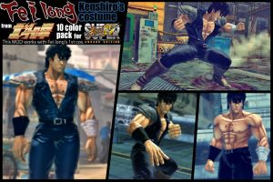 SSF4AE Feilong - Kenshiro costume MOD by dsFOREST