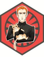 Commander Hux and Millicent by certibbs