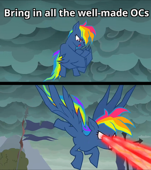 How Bad OCs started ruling the Internet (meme) by kas6