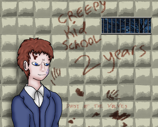 Creepy Kid School: 2 Years by Daisy-of-the-wolves