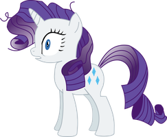 Rarity shocked Vector by Pangbot