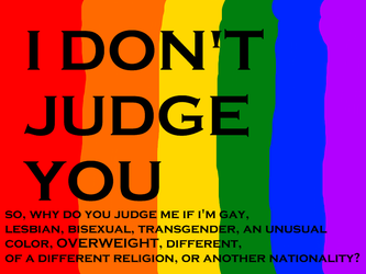 I Don't Judge You by infinite-progression
