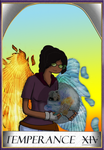 WC Tarot - Temperence by Extermanet