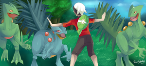 Jurassic Pokemon: Easy guys