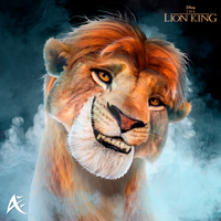 Young Simba Portrait- The Lion King (COMMISSION) by Andersiano