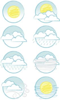 Weather Icons 02 by xquizit