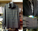 Black and Gold Dress Shirt for my Brother by pinkythepink
