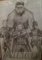 The Avengers by Katherine-The-Freak