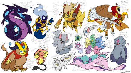 PKMN--Gigantic Steampunk and More Designs by Kineil-Wicks