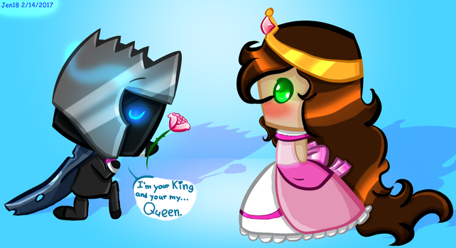 I'm your King and your my Queen (Pat X Jen) by Jen1878
