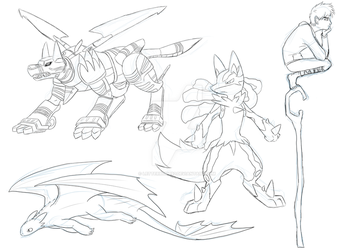 Sketchdump 4 by LetterBomb92