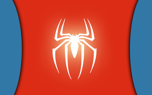 Marvels Spiderman Minimalist Wallpaper by NightLightArt