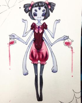 Muffet by Hellvilitic