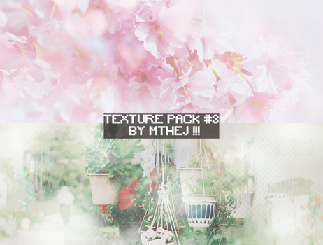 [SHARE] 120916 /// TEXTURE PACK #3 by mthej