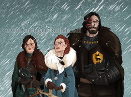 Queen in the North by TopHatTurtle
