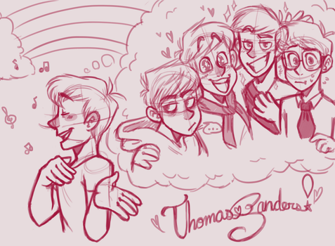 Thomas Sanders! by nessnic