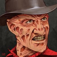 Daily Sketches Freddy Krueger by fedde