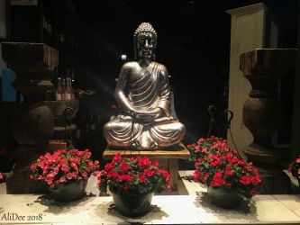 Storefront Buddha Display by AliDee33
