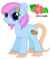 Rat Pony (Button Blossom) by Reitanna-Seishin